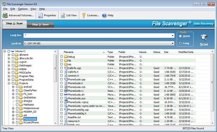 File Scavenger full screenshot